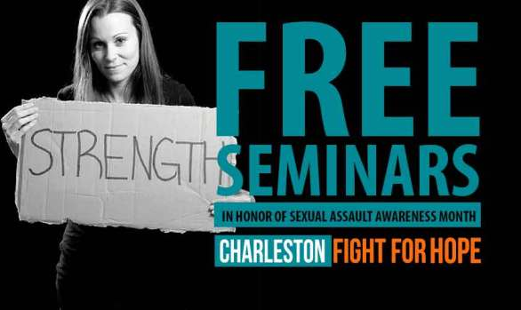 FREE Women's Only Self-Defense Seminars in Honor of Sexual Assault Awareness Month